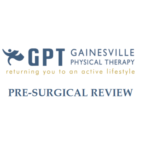 Pre-Surgical Review